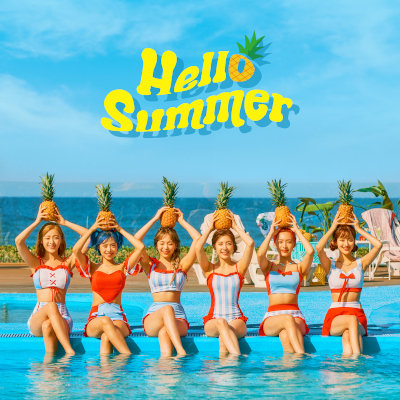 April - Summer Special Album 'Hello Summer' rar